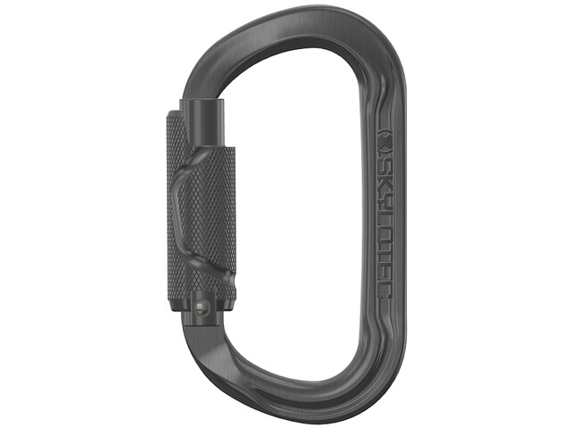 Skylotec Double-O Twist 2.0 Carabiner, grey